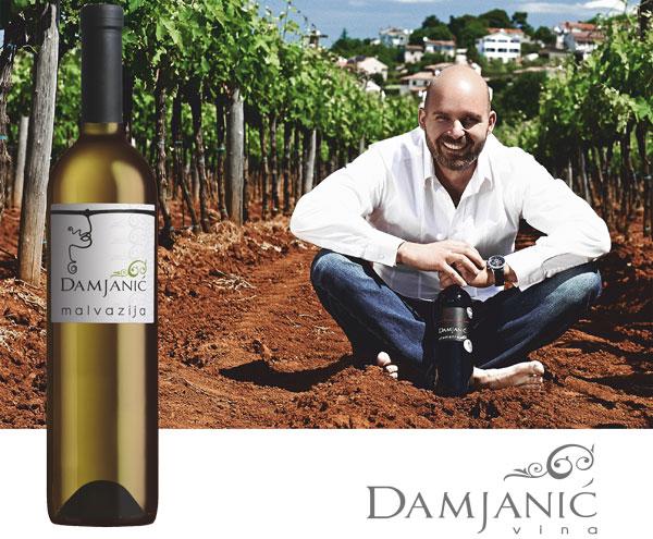 Damjanić vina