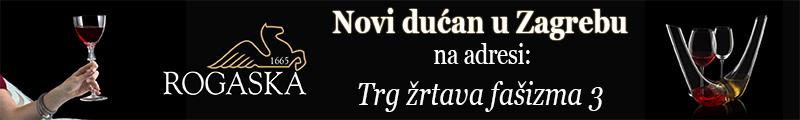 Kristal Rogaška - dućan u Zagrebu