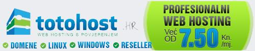 Totohost - web hosting s povjerenjem