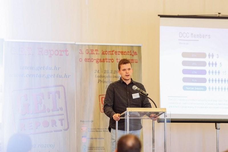 Vladan Krečković, projektni koordinator u organizaciji Dunavski centar za kompetenciju:  DCC  i regionalno povezivanje