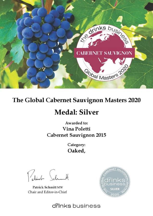 Poletti Cabernet Sauvignon 2015 nagrada