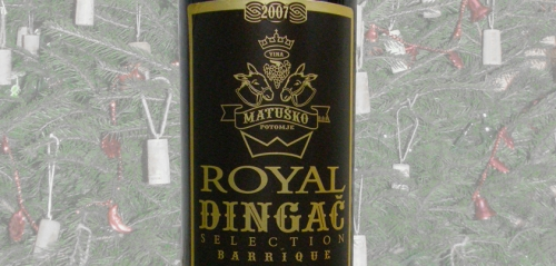 Matuško, Dingač Royal Selection 2007